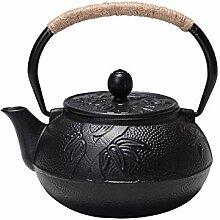 Tang Theapot Meilan Bamboo en fonte Pot en fonte