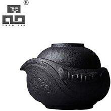 TANGPIN-théière japonaise en céramique, tasse