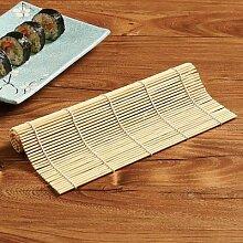 Tapis à Sushi en bambou, rideau à Sushi, rouleau