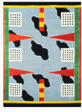 Tapis California / By Nathalie Du Pasquier, 1983 -