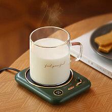 Tapis chauffant pour tasse à café, dessous de