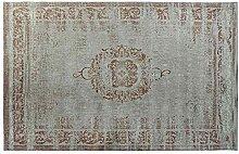 Tapis Coton et Polyester Ligne Textile Multicolore