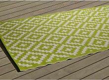 Tapis d'extérieur - 240 x 150 cm - Vert