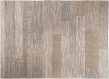 Tapis d'extérieur effet laine 160x230 cm