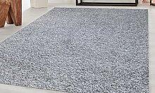 Tapis d intérieur Shaggy : Gris / 120 x 180 cm