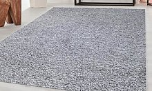 Tapis d intérieur Shaggy : Gris / 160 x 230 cm