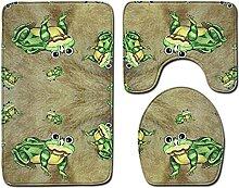 Tapis de Bain antiderapant 3D Tapis de Bain