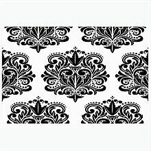Tapis de bain Design Détail textile Artistique