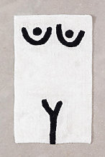 Tapis de bain en coton (40x70 cm) Luet B Sklum