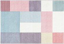 Tapis de chambre bébé multicolore pastel berwick