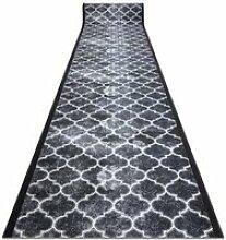 TAPIS DE COULOIR  antidérapant CLOVER gris 80 cm