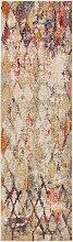 Tapis de couloir beige/multicouleur 70x240