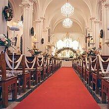 Tapis de couloir de mariage, tapis de cérémonie,