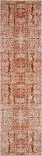 Tapis de couloir moderne rose et multicolore 62x240