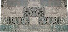 Tapis de couloir vintage TURIN - 100% polyester -