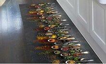 Tapis de cuisine en PVC : 52 x 140 cm / Orient