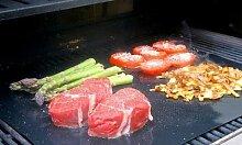 Tapis de cuisson barbecue : pack de 4