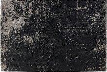 Tapis de salon 'GATSBY' 160/230 cm noir