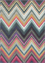 Tapis de salon boho  multicolore 121x170