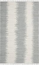 Tapis de salon contemporain gris 182x274