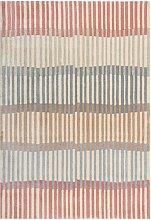 Tapis de salon moderne en Polyester Saumon 160x230