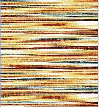 Tapis de salon rayé multicolore RENURA