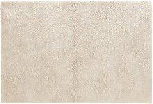 Tapis de salon shaggy 'TISSO' beige -