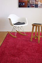 Tapis de Salon Ultra Doux Privilège Rouge 120x170