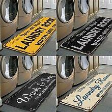 Tapis de sol antidérapant pour salle de lavage,