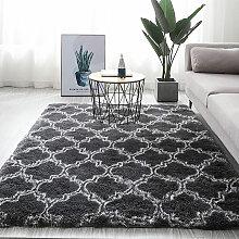 Tapis de sol antidérapant Shaggy tapis de salle