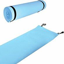 Tapis de Sol EVA Milestone Camping - Bleu, 180cm