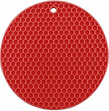 Tapis de tasse-Tapis isolant en silicone Support
