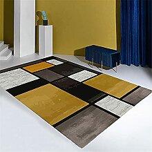 Tapis Decoration de Bureau Tapis géométrique