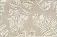 Tapis design 'SEQUOIA' 200x290 cm beige