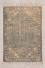 Tapis en chenille de coton (185x125 cm) Eli