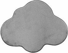Tapis en Forme de Nuage Extra Doux Antidérapant,