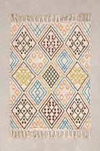 Tapis en laine (195x145 cm) Antuco Ethnic Colors