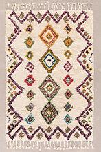 Tapis en laine et coton Mesty Ethnic Colors Sklum