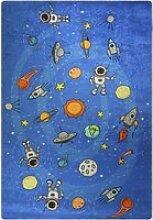Tapis enfant galaxie 120x160cm