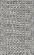 Tapis extérieur polypropylène noir 70x140