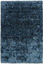 Tapis grâce shaggy bleu OHOY5-60-110-E