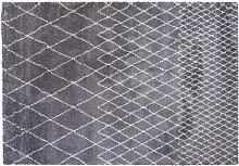 Tapis gris clair polypropylène 160x230 LATTICE