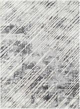Tapis gris vintage brillant intérieur Bucarest