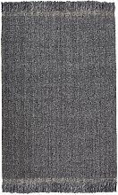 Tapis Kulti laine/polyester coloris gris