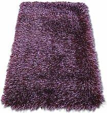 Tapis LOVE SHAGGY modèle 93600 violet nuances de