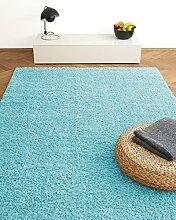 Tapis Moderne Colors Bleu Turquoise 160x230cm -