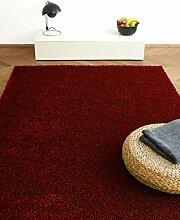 Tapis Moderne Colors Rouge/Bordeaux 200x290cm -