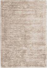 Tapis moderne en Soie Beige clair 120x170 cm