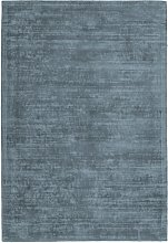 Tapis moderne en Soie Bleu 200x290 cm