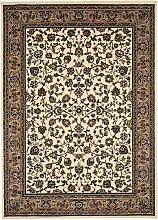 Tapis orient style en polypropylène beige 120x170